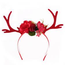 deer headband aliexpress buy women accessories lace antlers bow