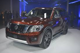 nissan armada 2017 interior 2017 nissan armada suv lands in chicago