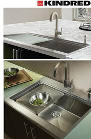 Kindred Faucet Kindred Sinks For The Kitchen By Franke Modern Kitchen Sinks