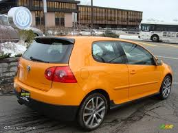 orange volkswagen gti 2007 fahrenheit orange volkswagen gti 2 door fahrenheit edition