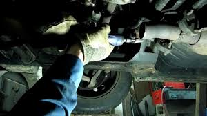 lexus rx300 exhaust system diagram exhaust flex pipe replacement youtube