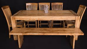 Balinese Dining Table Bali Teak Furniture Portland Quality Wood Indoor Dining Tables