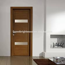 wood door design wenge veneer laminated wooden flush door design with glass buy