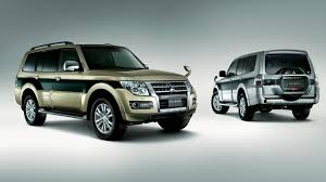 mitsubishi suv 2014 2015 mitsubishi pajero facelift revealed in japan