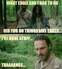 Walking Dead Season 1 Memes - cassie carnage s house of horror top 17 funniest walking dead