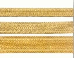 gold lace ribbon church liturgical jacquard vestment gallon trim braid vestment metallic braid gold metallic thread braid gold mylar braid lace ribbon jpg