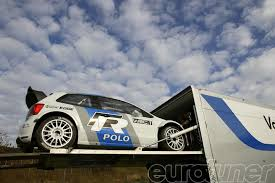 rally mini truck vw starts rally test program with polo r wrc web exclusive