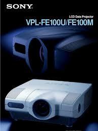sony vpl fe100m specs zoom lens manufactured goods