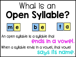 sarah u0027s first grade snippets teaching two syllable words