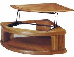 Coffee Table Amazing Pie Shaped Lift Top Coffee Table Pie Shaped Pie