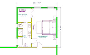 Master Bedroom With Bathroom by Master Bedroom Floor Plan With The Entrance Straight Into The
