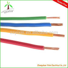 high quality pvc insulated coated electrical house wiring