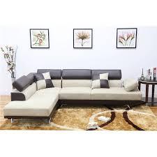 left facing chaise sectional sofa ufe sofia 2 piece fabric modern left facing chaise sectional sofa