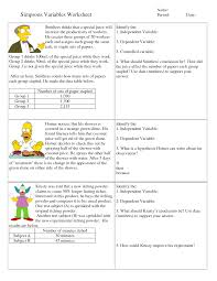 simpson science worksheet answers free worksheets library