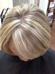 transitioning to gray hair with lowlights blonde highlights for gray hair here s a good idea to camouflage