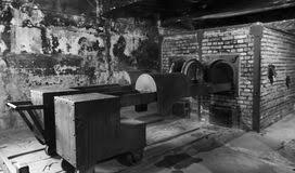 chambres a gaz chambres gaz d auschwitz photos stock inscription gratuite