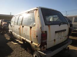 car junkyard portland junkyard find 1984 toyota van with bonus san francisco