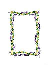 mardi gras picture frame gras bead frame embroidery design