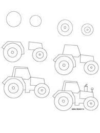 new how to draw a tractor vintage drawing lesson takes you step