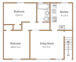 500 Sq Ft Studio Floor Plans Brookchester Apartments Rentals New Milford Nj Apartments Com