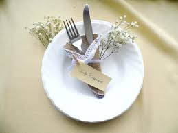 wedding silverware burlap wedding silverware holder cone burlap and lace rustic place