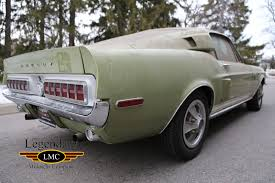 mustang 68 fastback 1968 ford mustang shelby gt500 kr fastback