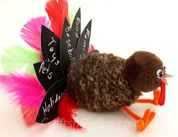 we re talking turkey today two easy turkey crafts for
