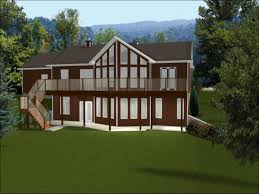 ranch with walkout basement floor plans architecture wonderful ranch style home exterior walkout