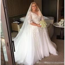 discount wedding dress discount steven khalil 2017 arabic plus size wedding dresses sheer