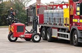 forklift training rider transportable truck