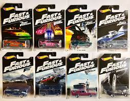 fast and furious 1 cars amazon com wheels fast and furious set of 8 2016 exclusive 1