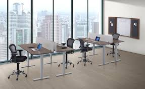 Electric Height Adjustable Desk by Electric Height Adjustable Tables Golden State Office Furniture