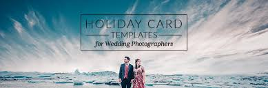 free download wedding photographer holiday card templates