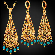long necklace sets images Buy vintage turkish jewelry earing and pendant jpg