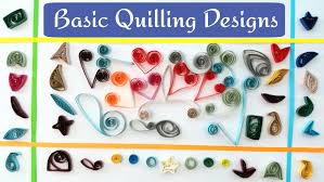 basic quilling designs shapes