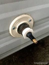 How To Shut Off Outside Water Faucet For Winter Provide Your Rv With An Extra Outside Water Faucet Rv Travel