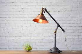 industrial table lamp edison desk lamp copper lamp pipe