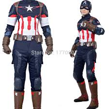 Avengers Halloween Costume Aliexpress Buy Marvel Avengers 2 Age Ultron Captain