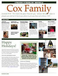 family newsletter rev dr donna m cox