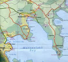 Malta World Map U0026 Gozo Travel Reference Map