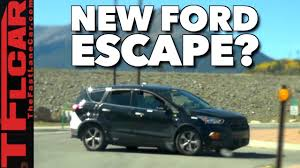 ford crossover escape the new 2019 ford escape spied in the wild youtube