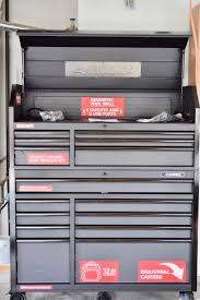 Husky Side Cabinet Tool Box Husky Tool Chest U0026 Cabinet A 52