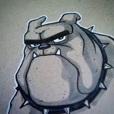 bulldogs are fun to draw
