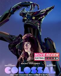 colossal movie review anne hathaway and jason sudeikis are
