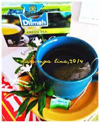 Teh Dilmah dapurnyalina dilmah green tea