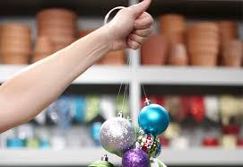 unique ways to decorate with ornaments at the home depot