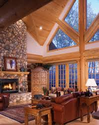 Pictures Of Log Home Interiors Log Home Interiors Yellowstone Log Homes Log Cabin Pinterest