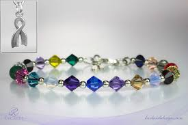 crystal bracelet designs images Hope crystals cancer awareness bracelet karlande designs jpg
