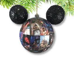 disney christmas ornament authentic park maps magic kingdom