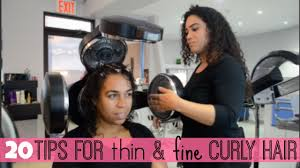 haircut for fine curly hair 20 tips for thin u0026 fine curly hair all things ada youtube